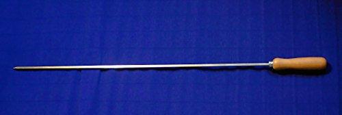 5 Stück Grillspieß BBQ Churrasco Grill Edelstahl 89cm 8x8mm Lebensmittelecht