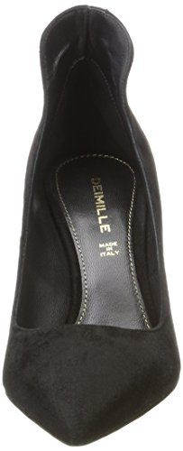 Dei Mille Damen Paul90 Pumps Schwarz (Nero)