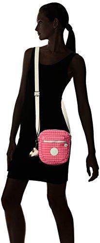 Kipling - Canali, Borse a tracolla Donna Rosa (Picnic Pink)