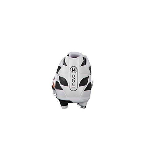 Scarpe calcio uomo 11 Nova FG Black1 / Run Whi / Neonor