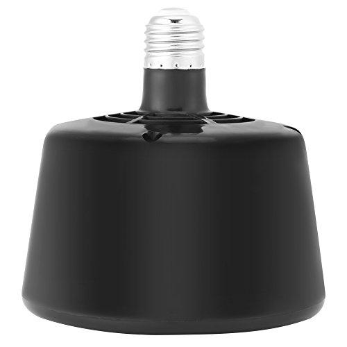 Fdit Tierwarmlicht Wärmlampe Wärmestrahler Brutkasten Heizung Lampe E27 Keramik Infrarotwärmitter Verstellbare Temperaturkontrolle Brüter 220V