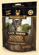 4 x 225g Wolfsblut Black Marsh getreidefreie Hundekekse mit 49% Wasserbüffelfleisch