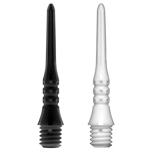 Target Pixel Tip Premium Spitzen, 50 Stück, 2 BA + 1 Satz good-darts Flights
