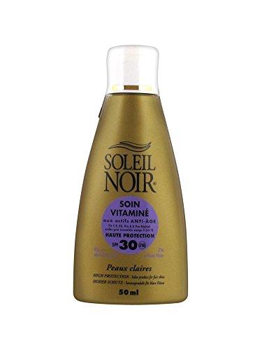 Soleil Noir - Soleil Noir Soin Vitamine Indice 30 Creme Solaire 50ml - Unique