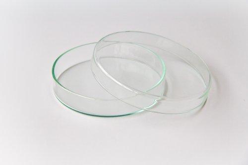 Preisvergleich Produktbild 18 Stück Petrischalen 100 mm x 20 mm Petrischale von Laborglasshop (SCHWEFELFADEN®) Petri-Schale, Glasschale, Petri dish