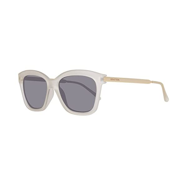 United Colors of Benetton BE988S04 Gafas de sol, Crystl/Gold, 56 para Mujer