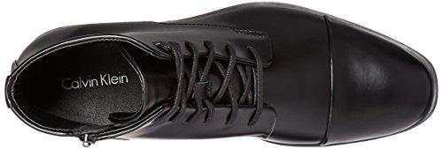 Calvin Klein Darsey box Cuir Bottine Black