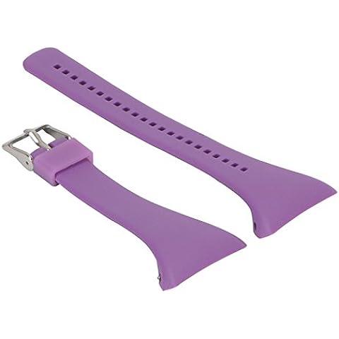 Reemplazo Correa de Reloj Pulsera de Silicona Banda para Polar FT4 FT7 FT Reloj - Púrpura