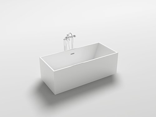 Vasca Da Bagno 180 80 : Pure l di aquatica la vasca da bagno freestanding in pietra con
