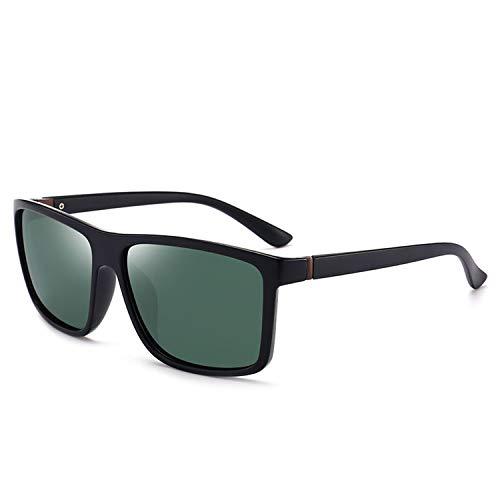 DEER HOUSE Polarisierte Sonnenbrille für Herren, UV400, verspiegelt, Vintage-Stil Gr. Einheitsgröße, A6