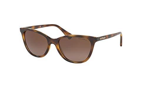 Ray-Ban Damen 0RA5259 Sonnenbrille, Braun (Dark Havana), 54.0