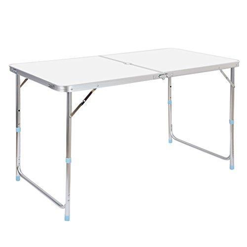 Finether tavolino pieghevole in alluminio esterno per terrazzo campeggio camper picnic