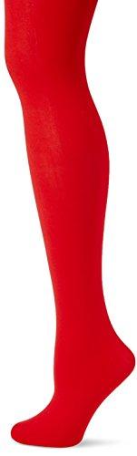 Fiore Damen Feinstrumpfhose DIAVOLA/OBSESSION Strumpfhose, 60 DEN, Rot (Red 024), Large (Herstellergröße:4)