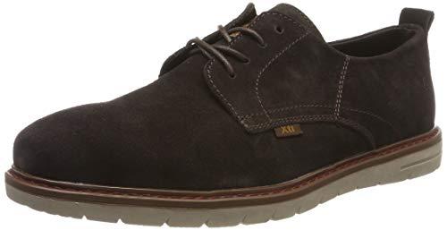 XTI 49177, Zapatos de Cordones Oxford para Hombre, Marron, 42 EU