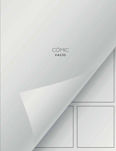 Cómic vacío: Cómic en blanco - 150 páginas por Comic Vacio