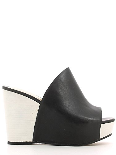Cafenoir, Mules pour Femme Noir