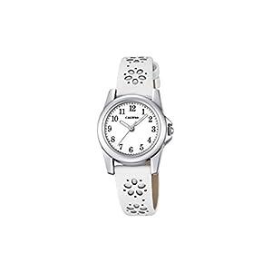 Calypso Mädchen Datum klassisch Quarz Uhr mit Leder Armband K5712/1