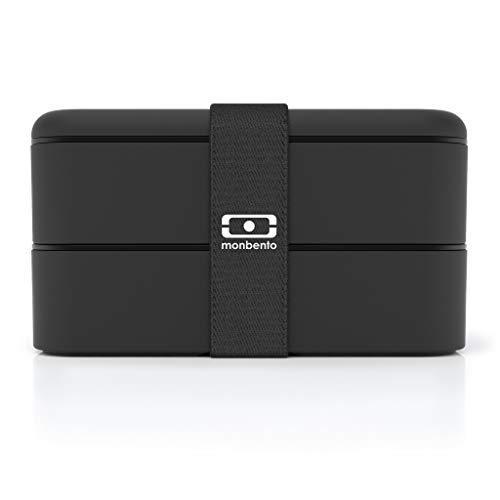 Monbento Caja Bento Original Negro