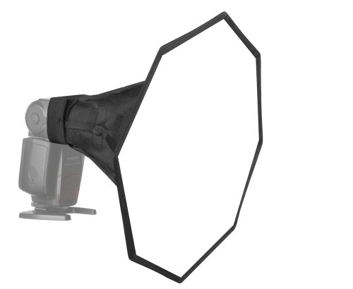 JINBEI E-30 30cm Pop-Up Diffusor Softbox/Octobox f. Aufsteck- / Systemblitz