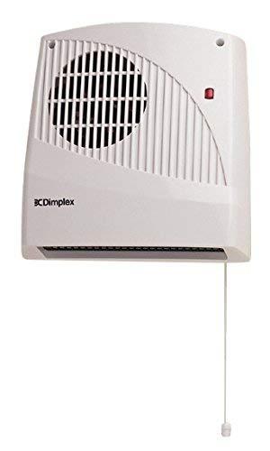 Dimplex FX20V Wall Mounted Fan Heater 2KW, 2000 W, White Test