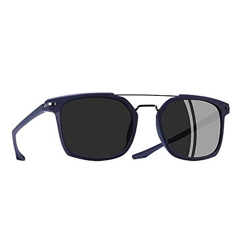 JU DA Sonnenbrillen Klassische Polarisierte Sonnenbrille Männer Fahren Tr90 Rahmen Sonnenbrille Brille Uv400 Gafas Oculos De Sol C4Blau