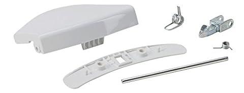 DREHFLEX® - Griff / Türgriff für diverse Waschmaschinen aus dem Hause AEG-Electrolux (auch Privileg - Quelle möglich) - passend für Teile-Nr. 405508700-3 / 4055087003