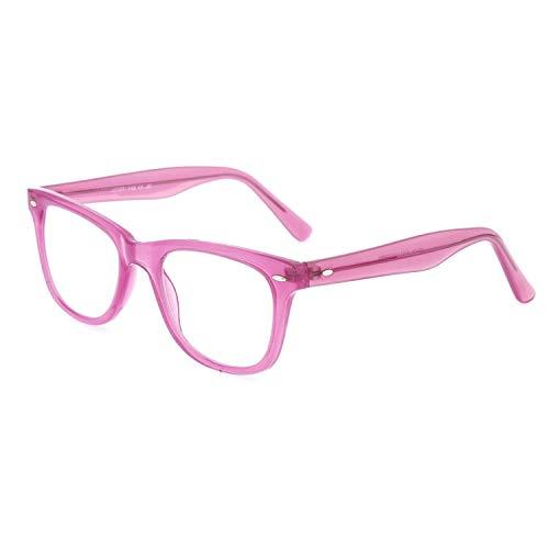 DIDINSKY Graduierte Lesebrille für Männer und Frauen transparent. Presbyopische Brille für Männer und Frauen für müde Augen. Love Pink +2.0 - GETTY
