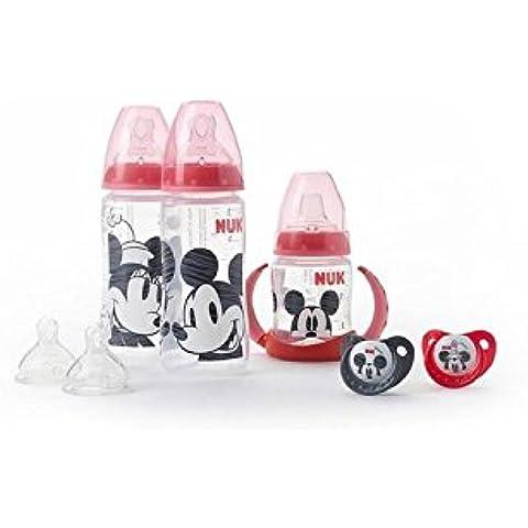 Nuk Mickey Y Minnie Paquete Protector - Paquete de 2