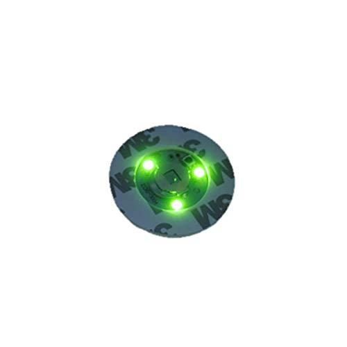 YUnnuopromi Lumineux Bouteille Potable Stickers Dessous-de-Verre lumière LED Tasse Autocollant Tapis de Bar Club fête Dessous de Verre Décor Green