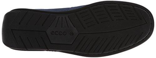 Ecco Classic Moc 2.0, Mocassins Homme Bleu (denim Blue02086)
