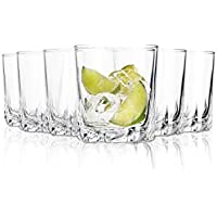 arc Deluxe Vasos de Agua - 310 ML - Conjunto de 6 - Gafas Lavavajillas- Vasos de Cristal