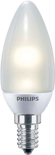 Philips 85293600 Novallure TRL - Bombilla vela LED (2 W, E14), color mate