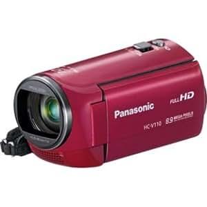 Panasonic HC-V110 EB-R Camcorder-Full HD 1080p