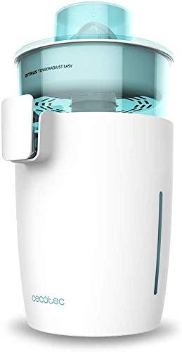 Cecotec exprimidor eléctrico Zitrus TowerAdjust Easy White - 350 W de Potencia,Filtro...