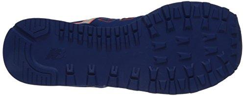 New Balance ML574NEL, Scarpe sportive, Uomo Blu (Bleu (Nel Blue/Yellow))