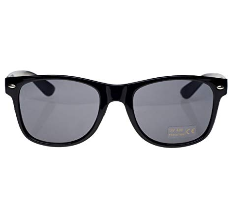 UV Reader Schwarz Sonnen-Leser Lesebrille Stil Herren Frauen UV400 Dioptrien 1.00 1.5 2.00 2.5 3.5 Readers Perfekt für den Urlaub Retro Vintage Brille (Black, 1.50)