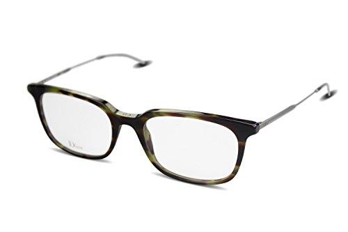Christian Dior HOMME Herren Brille BLACKTIE210 col. VDF Havanna braun grün/Kunststoff, Metall / (53-19-150)