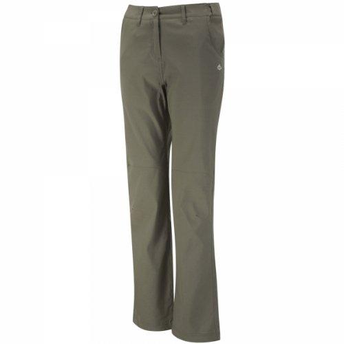 Craghoppers nlife stretch trs pantalon pour femme, cWJ1029S Vert - Vert mousse