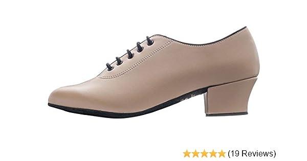"""Ladies Black Suede Sole Ballroom Jive Cerco Showtime Line Dance Shoes Katz 2/"""""""