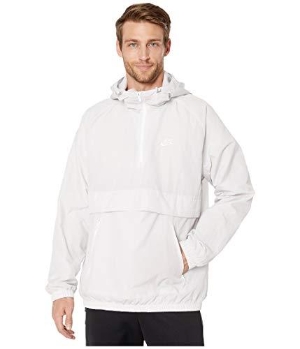 Nike M NSW Ce JKT HD WVN Anrk Veste Homme, Gris/Blanc Vast Grey/White, M