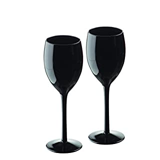 ARTLAND Set of 2 Midnight Wine, Black