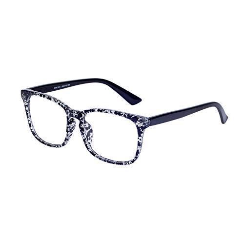 JoXiGo Montura Gafas Hombre Mujer Retro Vintage Grandes