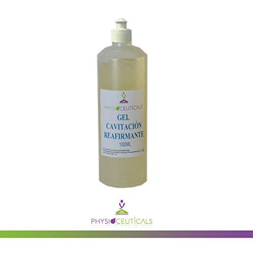 Gel Cavitacion conductor Reafirmante 1000 ml ( urea, castaño de indias, centella asiática, proteinas de soja, aloe vera)