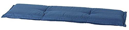 Madison 7BAN6-F293 Gartenbank, 2-Sitzer Rib, 120 x 48 cm, Acryl, grau