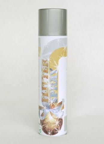 Sprühlack, Lackspray, Design Lack, Flitter Effektspray Silber 400 ml