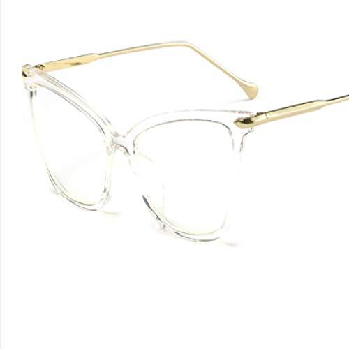 New fashion cat eye sonnenbrille damenmode sonnenbrille sonnenbrille, transparent