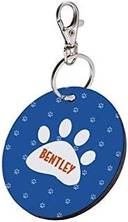 Sky Trends Round Shape Collar Locket/Pendant for Dogs & Puppy -812, Multicolour, Medium, 1 Count - Ben