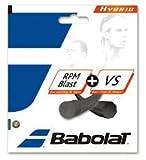 Babolat RPM Blast und VS hybridsaite String Set–Schwarz, 1.25. mm