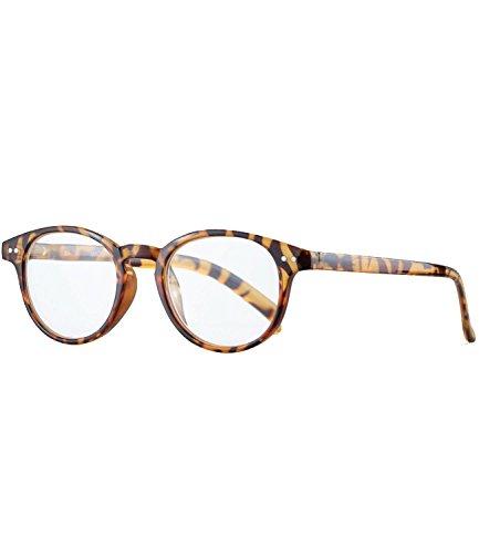66b2c08e888b9a Caripe Herren Damen Retro Nerd Vintage Lesebrille Lesehilfe + Brillen-Etui-  + Brillenband -