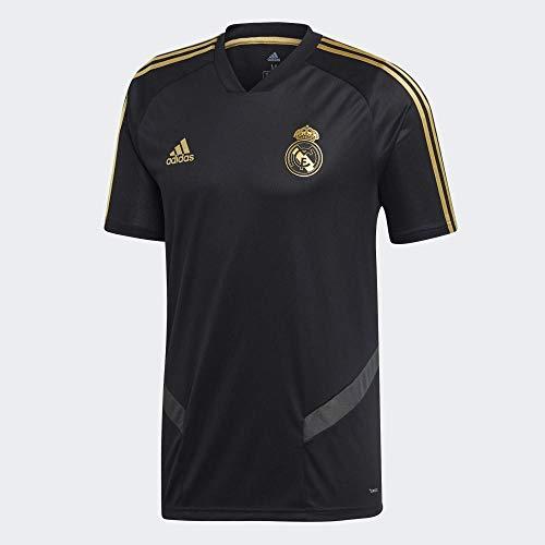 adidas Performance Real Madrid Trainingstrikot Herren schwarz/Gold, M -